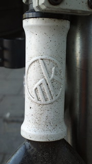 Mankind (Germany) bicycle head badge logo