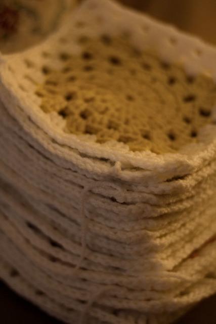 Crochet stack