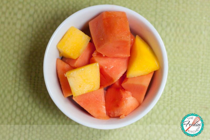 Mango Papaya Smoothie
