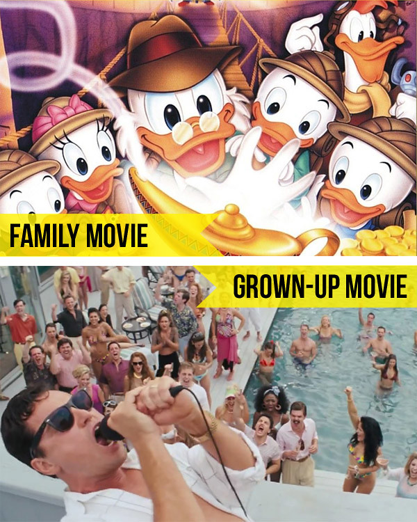 Family Movie / Grown-Up Movie // Little Gray Pixel