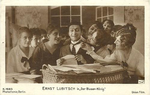 Ernst Lubitsch in Der Blusenkönig