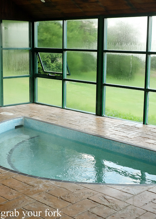Jacuzzi spa at Solar Springs Health Retreat, Bundanoon