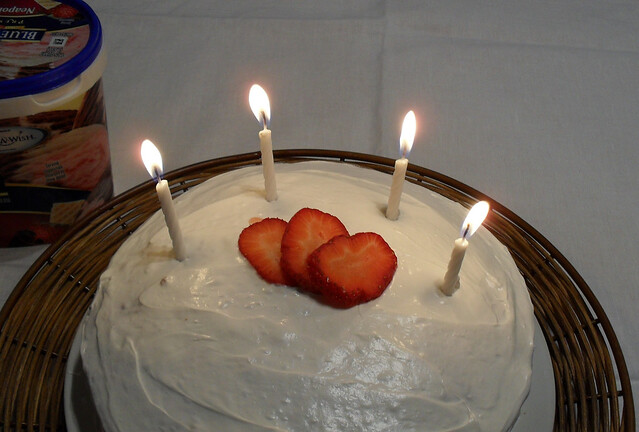 Four candles forever.