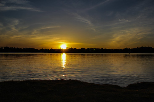 sunset lakenormannc ramseycreekpark canon60d terridoaktaylor