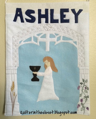 Ashley's 1st Communion Banner