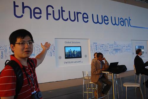 趙家緯出席2012年Rio+20地球高峰會