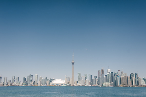 Toronto, from the islands
