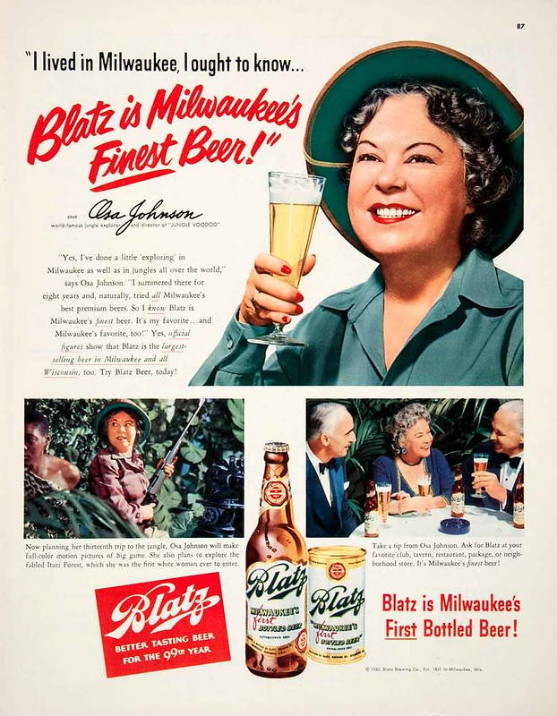 Blatz-1950-osa-johnson