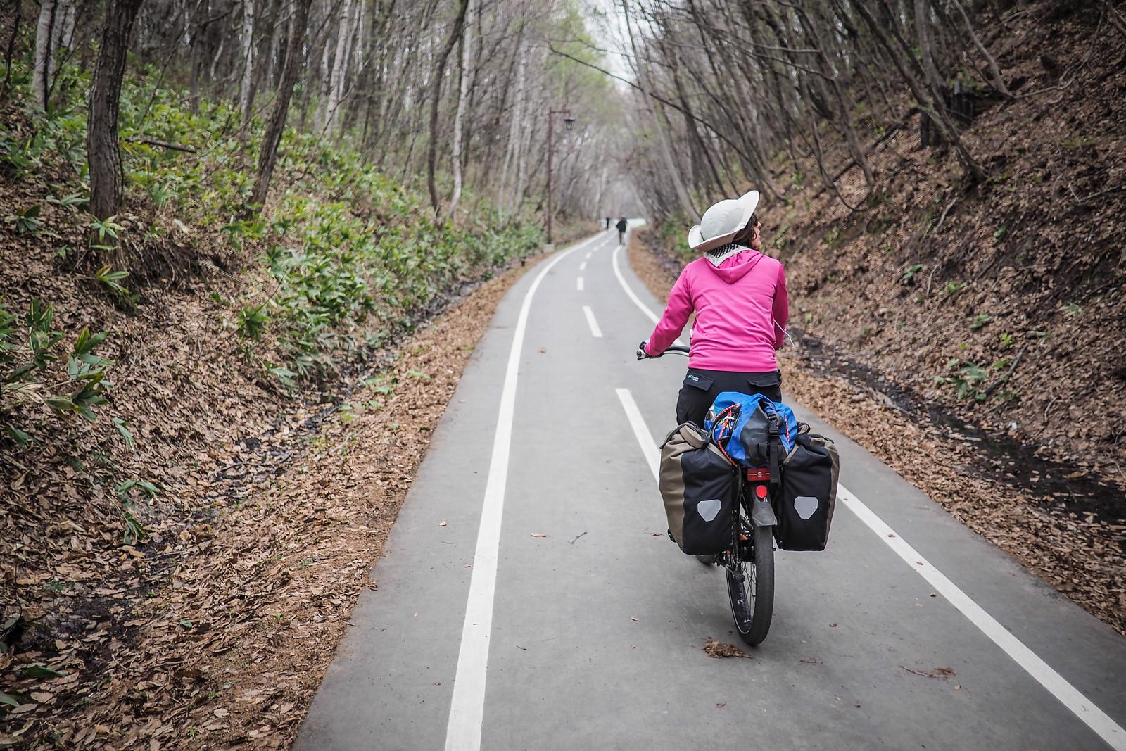 Shiroishi Cycling Road, Sapporo, Japan