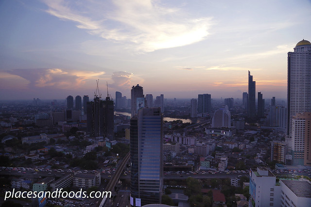 mode sathorn the roof sunset