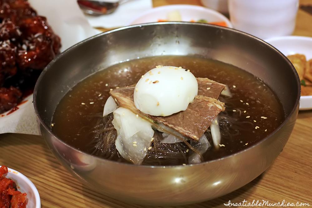 Mul Naeng Myeon, Naruone