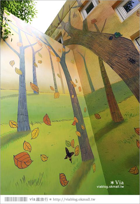【彰化村東國小】彰化彩繪國小~夢幻繪本風!童話小屋居然在校園裡現身了7