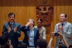Carmen Aristegui recibe el galardón 'Corazón de León' ⑲
