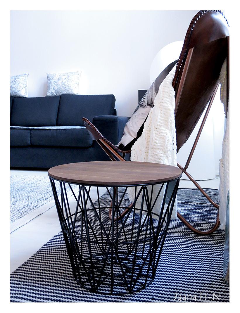 ferm living wire basket small flickr photo sharing. Black Bedroom Furniture Sets. Home Design Ideas