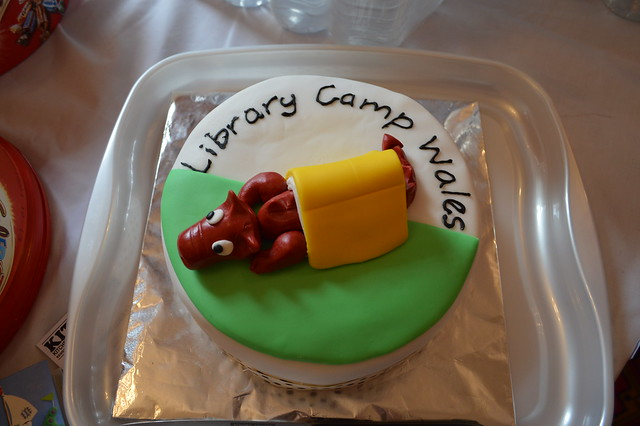library camp wales cake camp