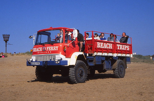 Skegness beach buses