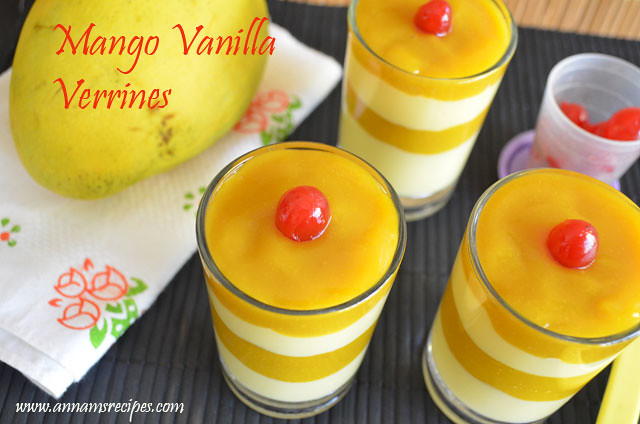 Mango Vanilla Verrines