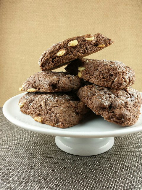 Chocolate Scones with White Chocolate Chips
