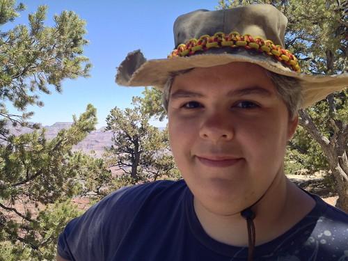 Dachary at Grand Canyon