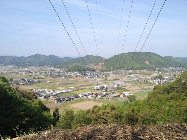 郡府山 鉄塔からの眺望