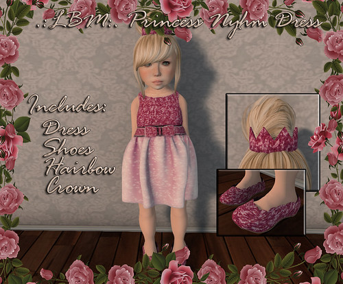 .:LBM:. Princess Nyhm Dress Ad