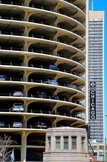 Marina City/ Hotel Chicago - Chicago IL