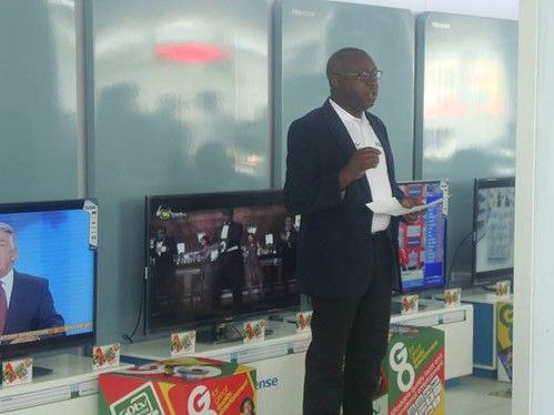 Mr. Cecil Sunkwa-Mills, GOtv Director