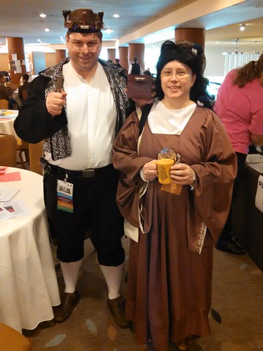 The Librarian Prince and  St. Offern at  #BayCon2014