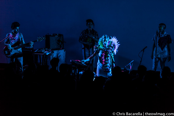 Tune-Yards @ Hollywood Forever Masonic Lodge, LA 5/5/14