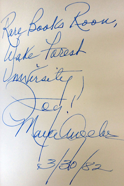angelou inscription