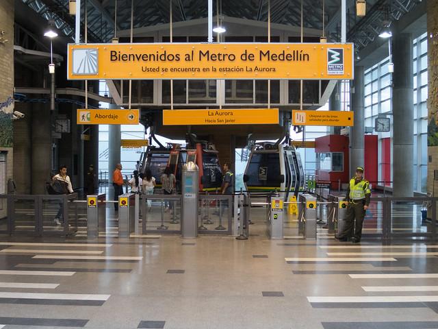 La Aurora metrocable station