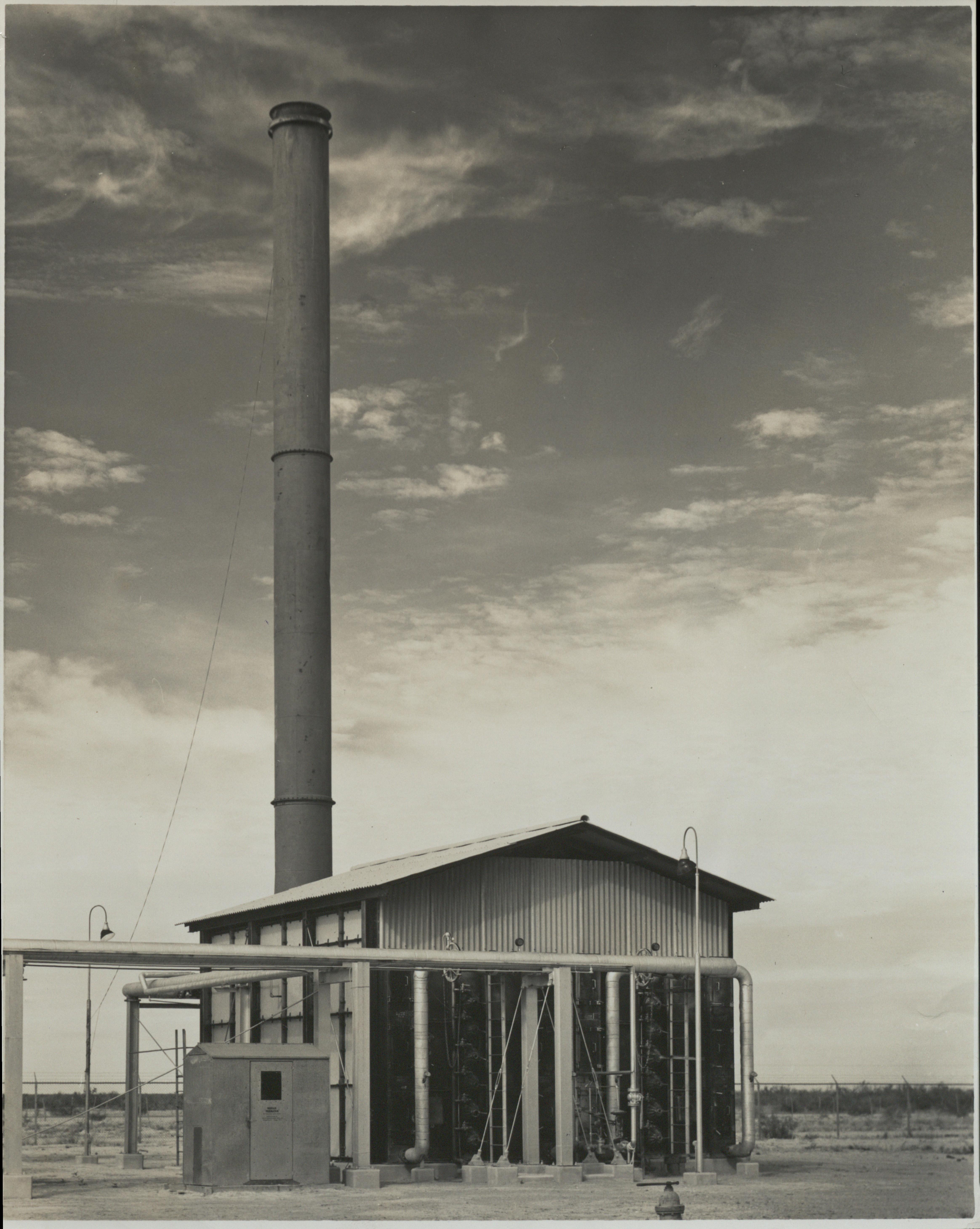 Texas Natural Gasoline Company Furnace (AC604-A04-001)