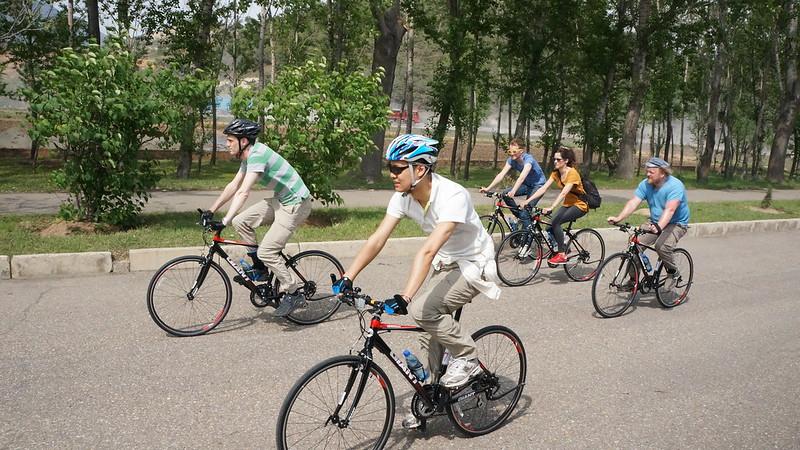 North Korea Bike Tour