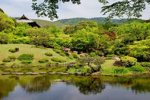 flower nature japan 庭園 奈良県 isuien 依水園 narapref 20140506dsc09243