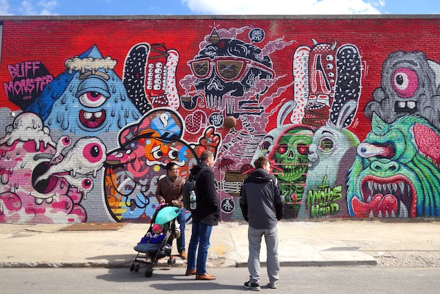 Brooklyn street art The Bushwick Collective mural