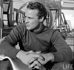 marlon brando turtleneck