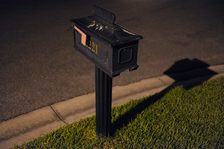 136/365 - Mail box etc