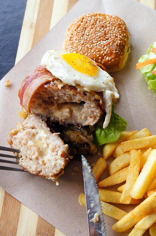 Yummy brunch at Andes BYO - Aman Suria - big breakfast, scotch eggs, french toast-006