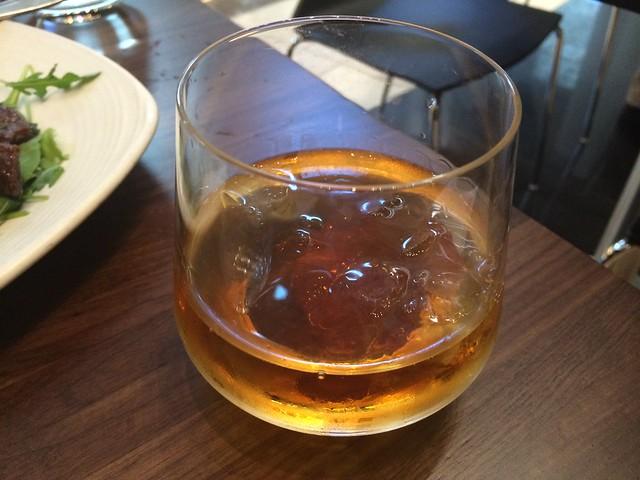 Bulleit bourbon Manhattan cocktail - M.Y. China