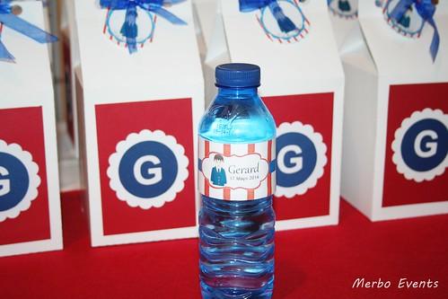 Botellines personalizados para los niños Comunion Merbo events