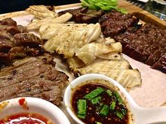 meal(1.0), samgyeopsal(1.0), galbi(1.0), food(1.0), dish(1.0), bulgogi(1.0), cuisine(1.0), chinese food(1.0),