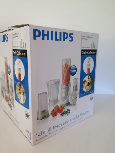 le mini blender daily collection philips pour des. Black Bedroom Furniture Sets. Home Design Ideas