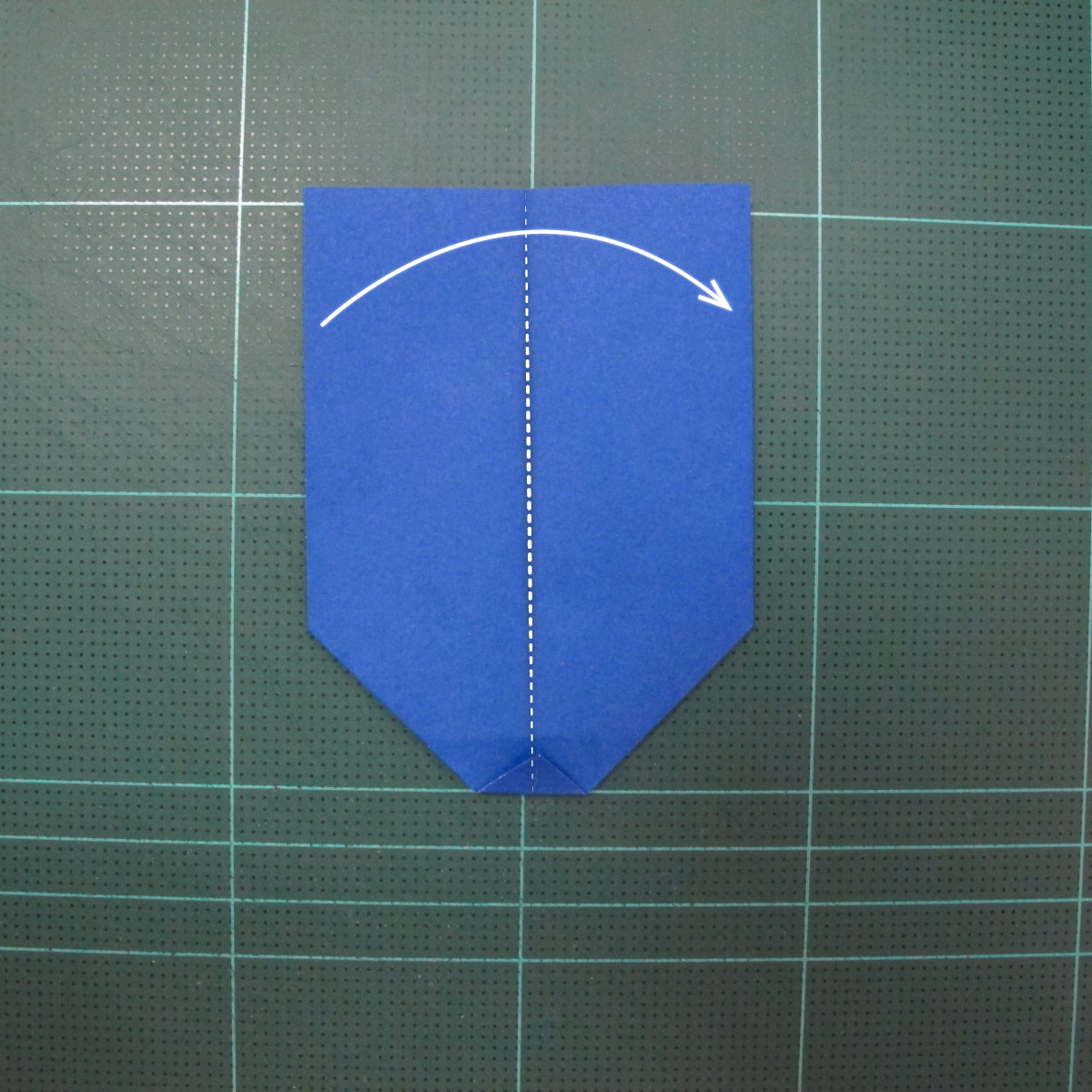วิธีการพับกระดาษเป็นรูปกระต่าย แบบของเอ็ดวิน คอรี่ (Origami Rabbit)  011