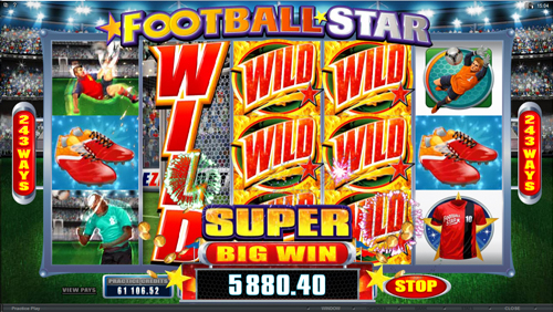 Football Star Bonus Feature
