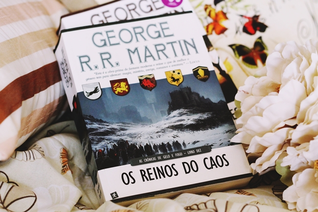 Game of Thrones, A Song of Ice and Fire, George R. R. Martin, A Dance of Dragons, A Dança dos Dragões, Os Reinos do Caos, book review