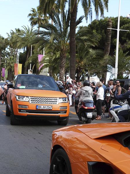 voitures orange