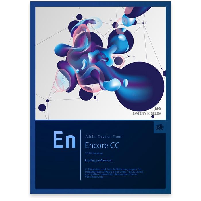 Adobe Encore Cc Splash Screen Ekiselev