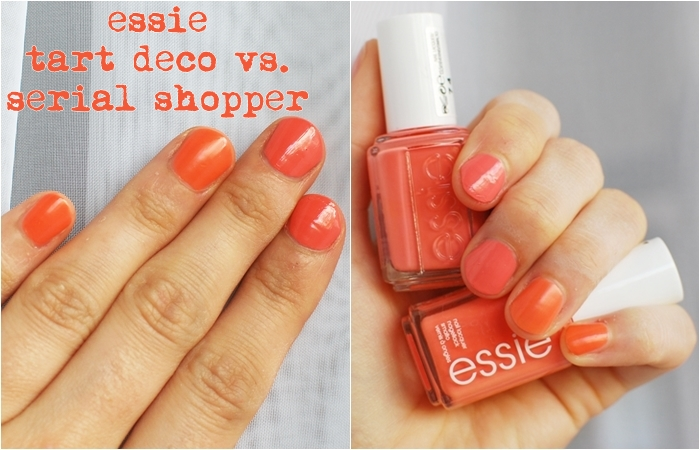 essie serial shopper tart deco