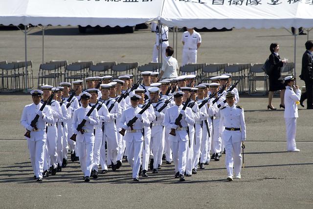 海上自衛隊 遠洋練習航海出発式