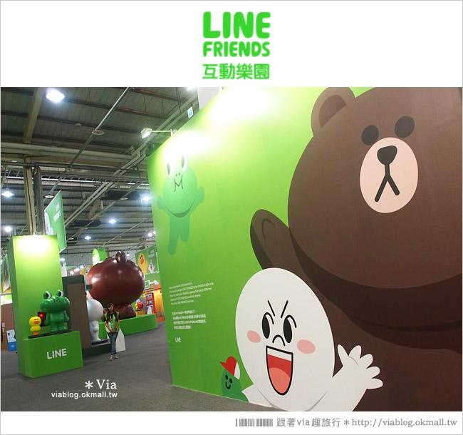 【台中line展2014】LINE台中展開幕囉!趕快來去LINE FRIENDS互動樂園玩耍去!(圖爆多)40